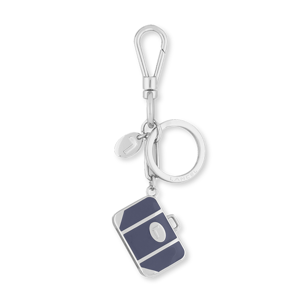 Lancel Key Ring PRUSSIAN BLUE