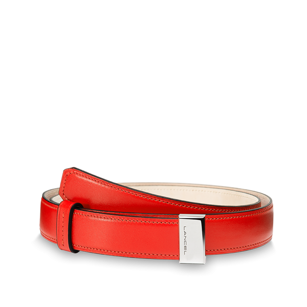 Lancel Belt CINNABAR