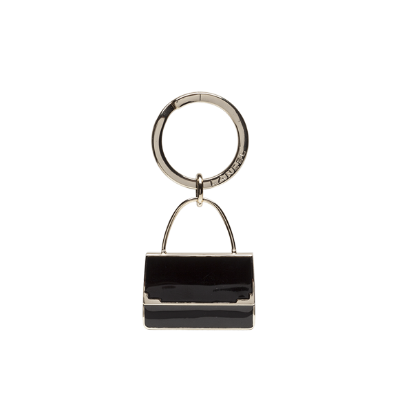Lancel Key Ring BLACK