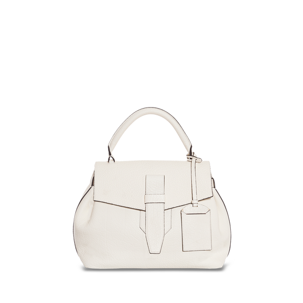 Lancel Charlie de  Small top handle ALABASTER