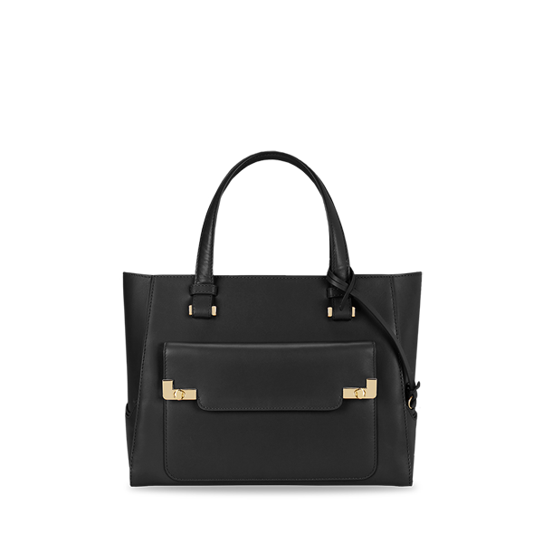 Lancel L de  Small shopper BLACK