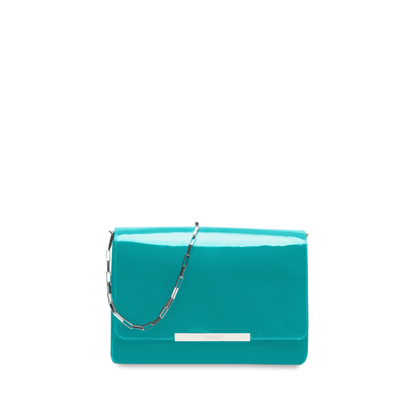 Lancel Varenne de  Large shoulder bag TURQUOISE