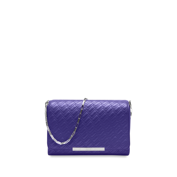 Lancel Varenne de  Small shoulder bag AMETHYSTE